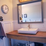 Boys' Farmhouse Bathroom Remodel